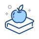 Apple Ontop of Book