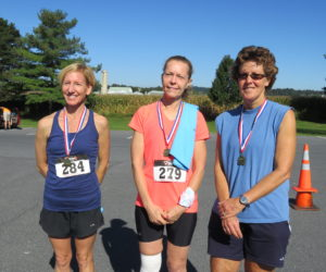 Female 50-59 Winners - Carol Wallace, Patti Weaver & Beth Kimmel