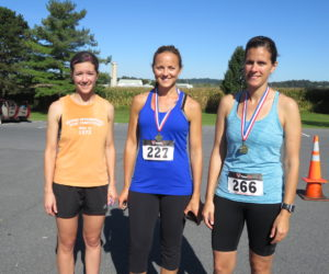 Female 30-39 Winners - Tara Showalter, Julie Lehman & Melanie Zeist