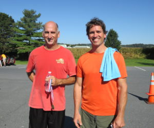Male 40-40 Winners - Barry Hunt, Marty Gerhart & Michael Rykoski