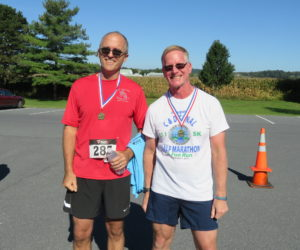 Male 50-59 Winners - Mike Wallace, Tracy Donmoyer & Michael Anderson