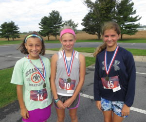Female 14 & Under Winners